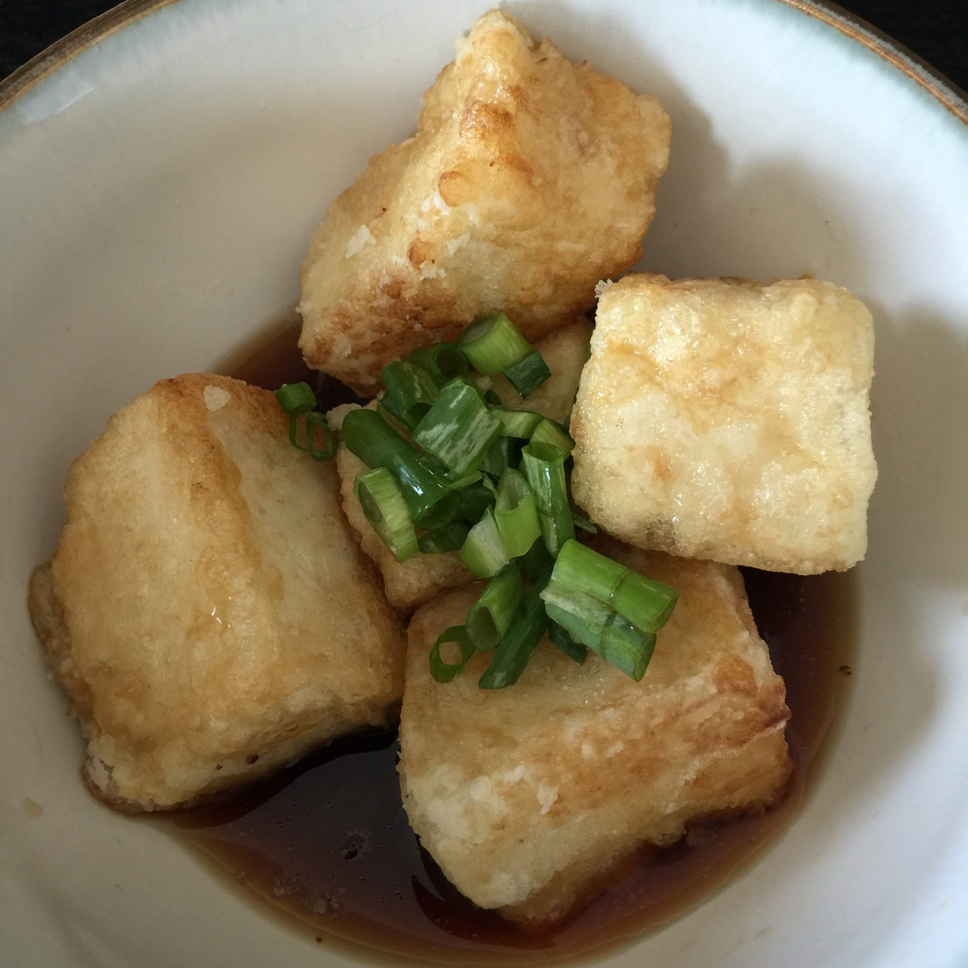 How to make Agedashi Tofu fried tofu All Day I Eat like a shark