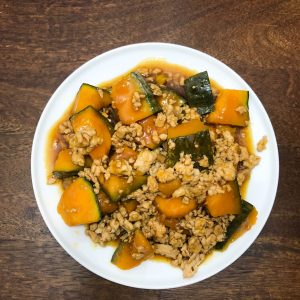 soy-glazed-kabocha-with-ground-chicken