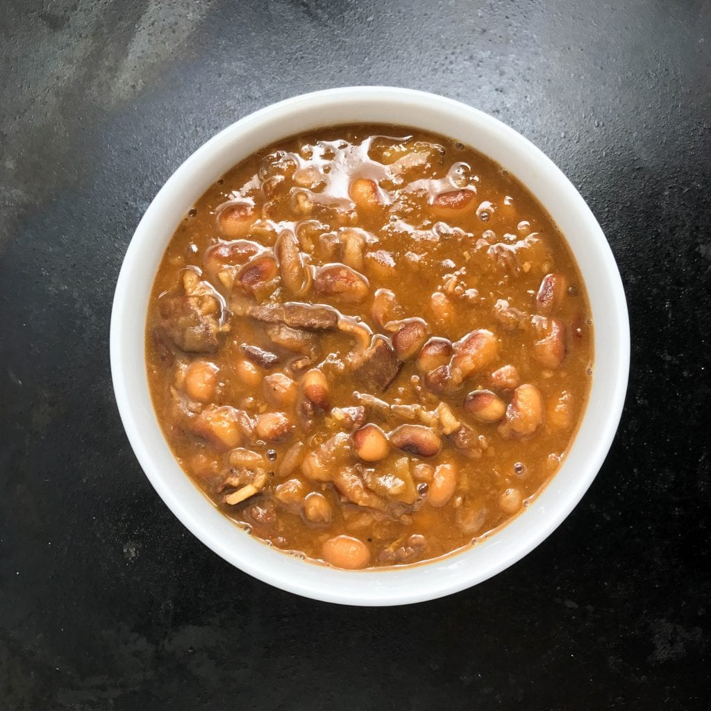 New England-Style Baked Yellow Eye Beans
