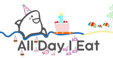 All Day I Eat Turns 1 year old!!