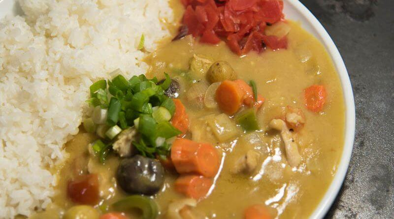 japanese curry with chicken curry rice from scratch-