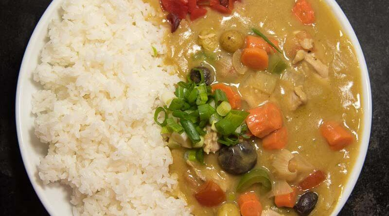 japanese curry with chicken curry rice from scratch