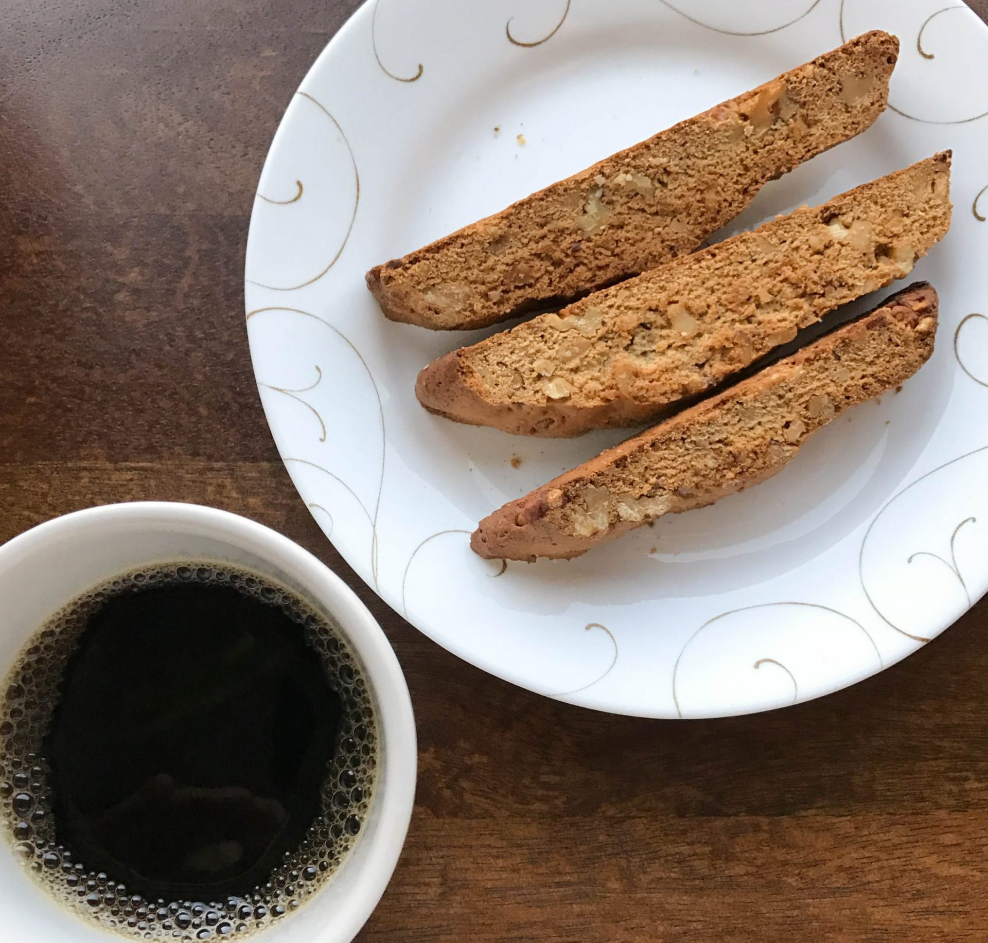 Maple Walnut Biscotti - All Day I Eat - like a shark