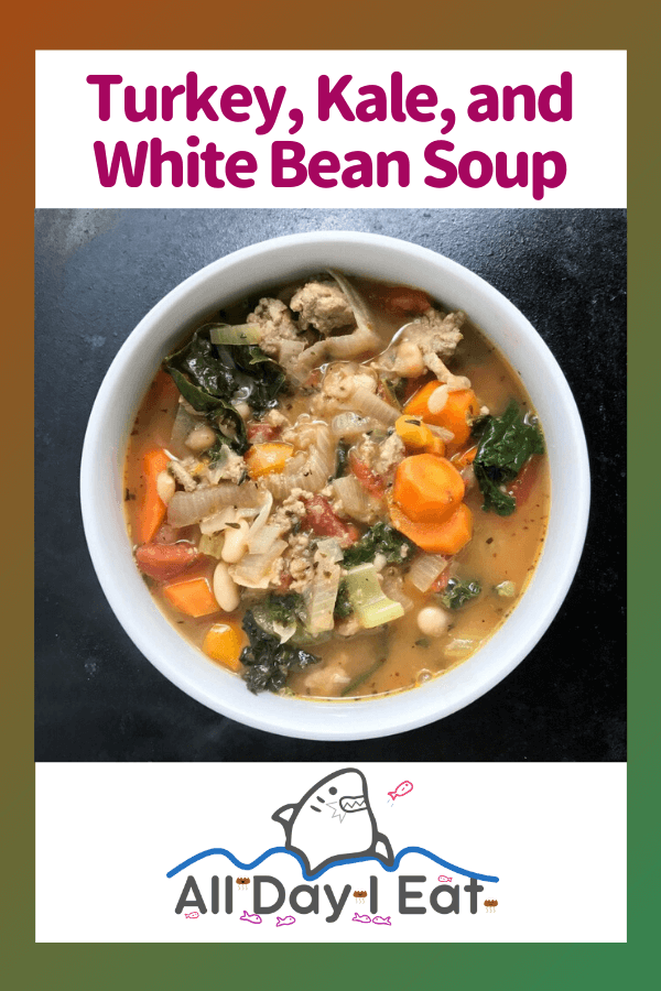 Turkey, Kale, and White Bean Soup with Herbes de Provence