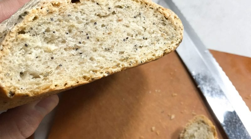 Rustic Loaf with Fennel, Poppy, and Sesame Seeds (4)