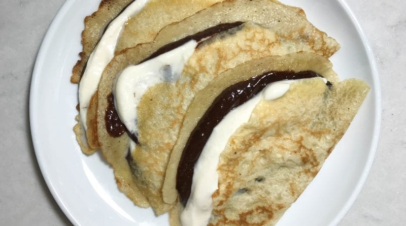 Better than Nutella crepes