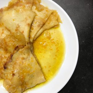 Classic Crepes Suzette with Rum (1)