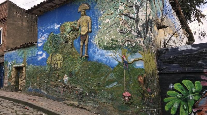 la candelaria graffiti bogota colombia