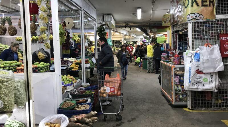 paloquemao market bogota colombia