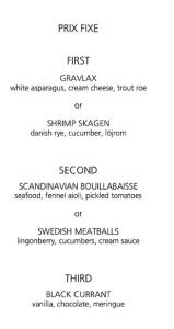 aquavit new york city menu