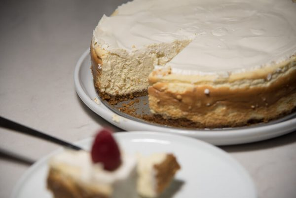 Vanilla Bean Cheesecake with a Walnut Crust-3