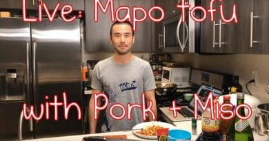All Day I Eat Goes Live – Mapo Tofu with Pork and Miso