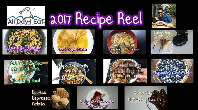 all day i eat recipe reel 2017