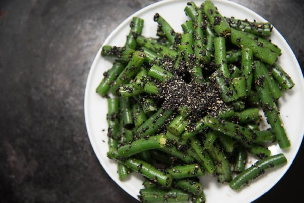 japanese green bean salad sesame dressing-3