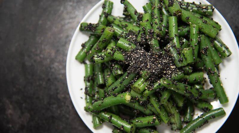 japanese green bean salad sesame dressing-3