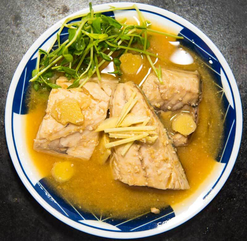 Japanese Style Mackerel with Miso and Ginger (misoni)-7-2