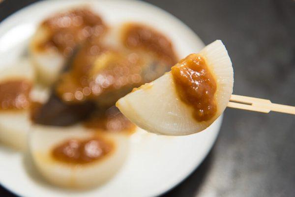 daikon and konnyaku dengaku (miso glaze)-2