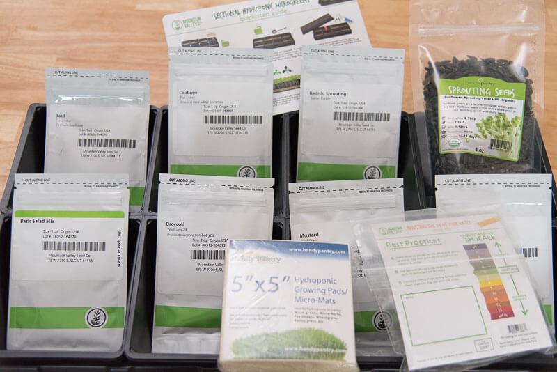 trueleaf market hydroponic microgreen kit review