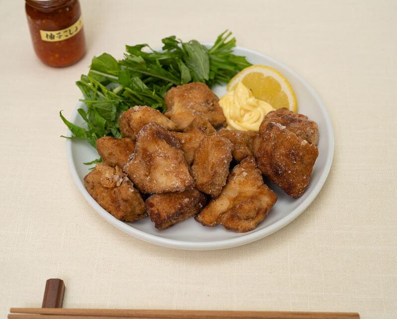 kinugoshi tofu karaage japanese deep fried tofu-5