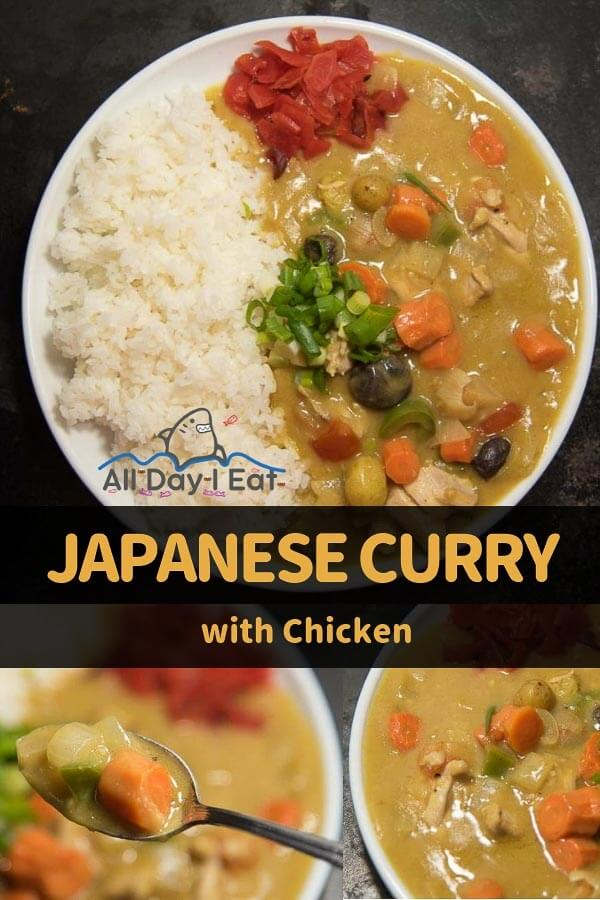 Japanese Curry with Chicken all day i eat like a shark