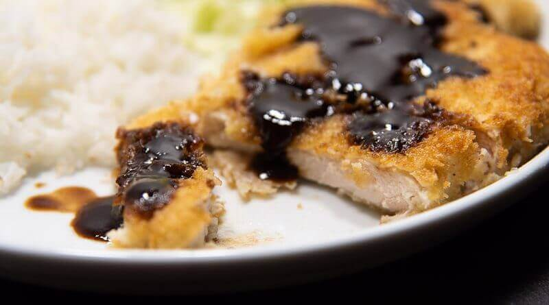 chicken katsu japanese style deep fried chicken cutlet