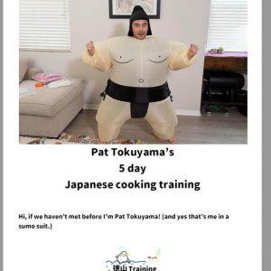 5 day training cookbook tokuyama training