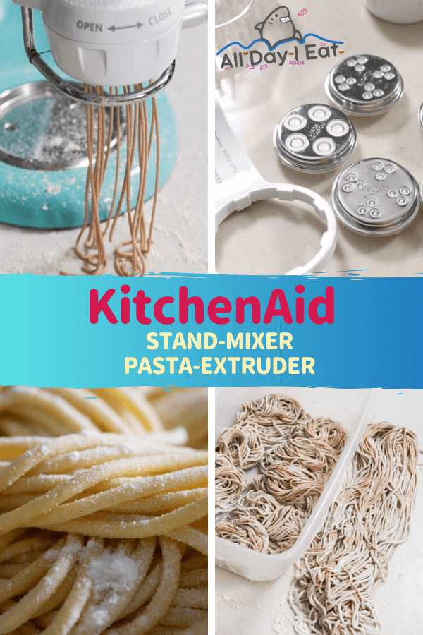 KitchenAid Stand-mixer pasta-extruder