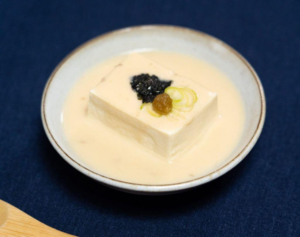 sake kasu youdoufu simmered tofu with konbu dashi (18)