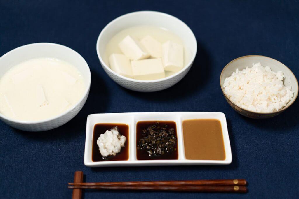 yudoufu 2 ways and homemade sauces (10)