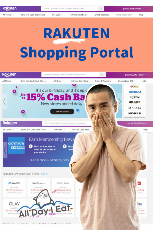 Rakuten Shopping Portal and why you should use it (to save money)