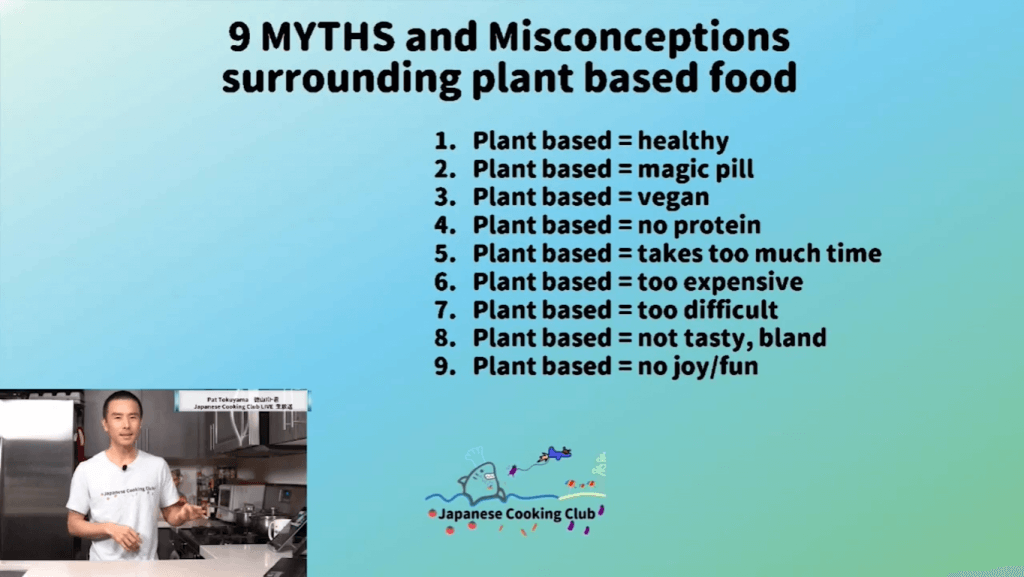 9 Plant based myths and misconceptions