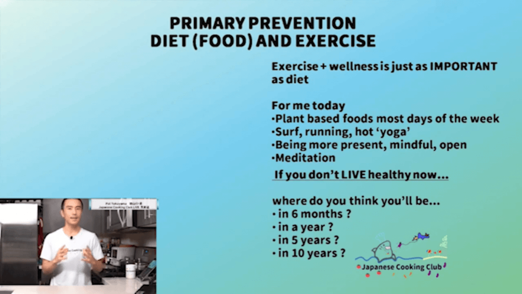 Primary Prevention and plant based food