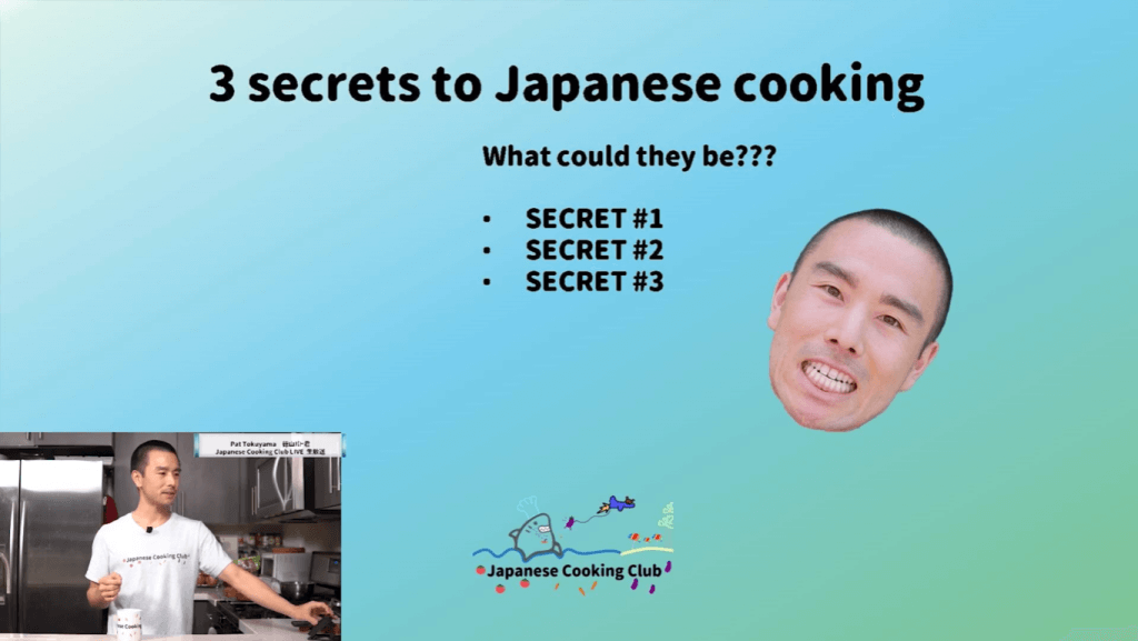 3 Japanese Cooking Secrets