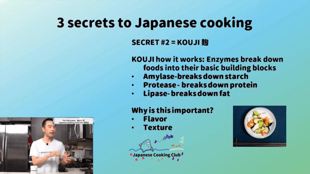 3 Japanese Cooking Secrets - Kouji