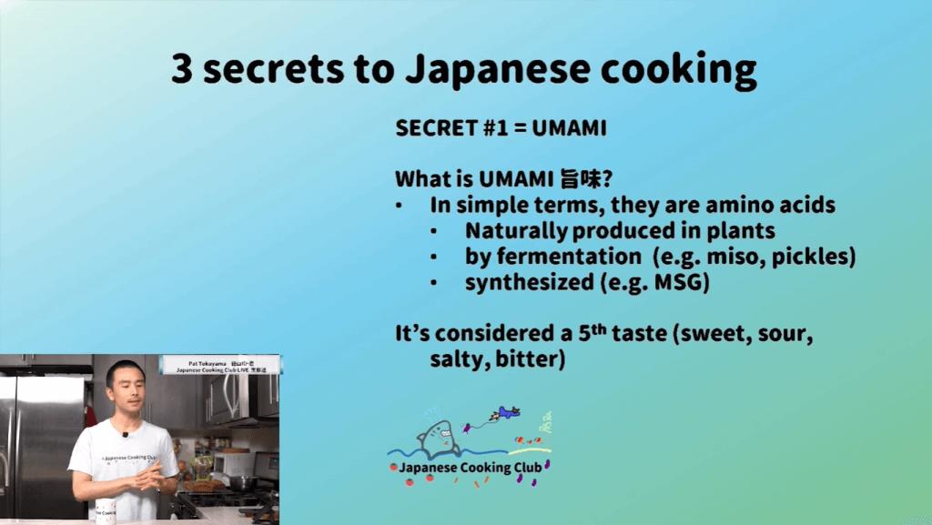 3 Japanese Cooking Secrets- Umami