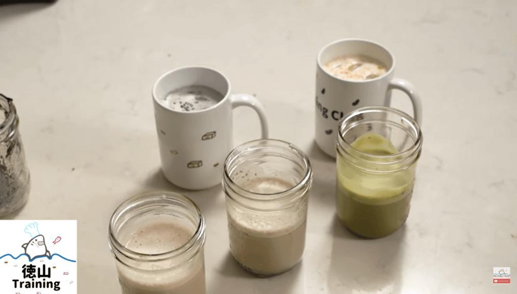 5 flavors of Soymilk Latte