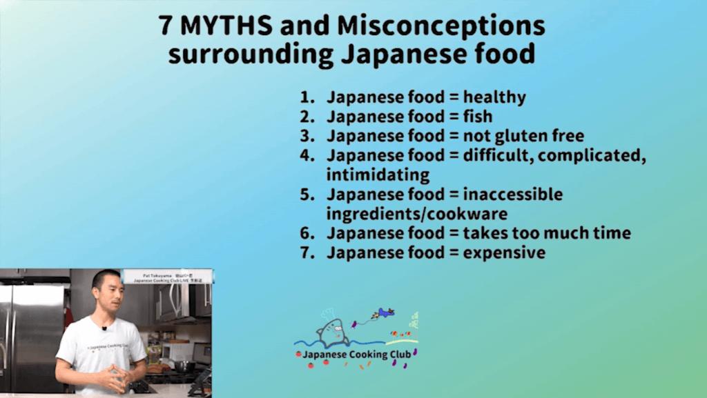 7 Myths Surrounding Japanese Food