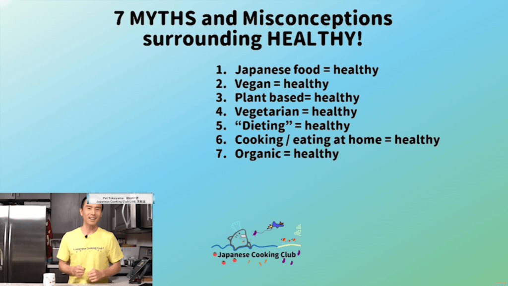 7 myths about being healthy