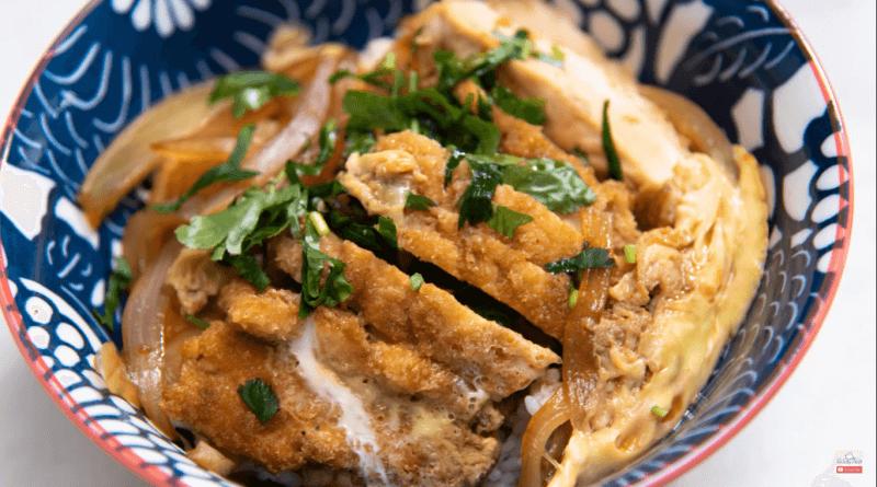 Chicken katsudon 4