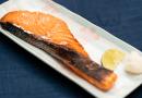 King Salmon Mirinzuke and Shiokojiyaki 鮭の味醂付けと塩こうじ焼き