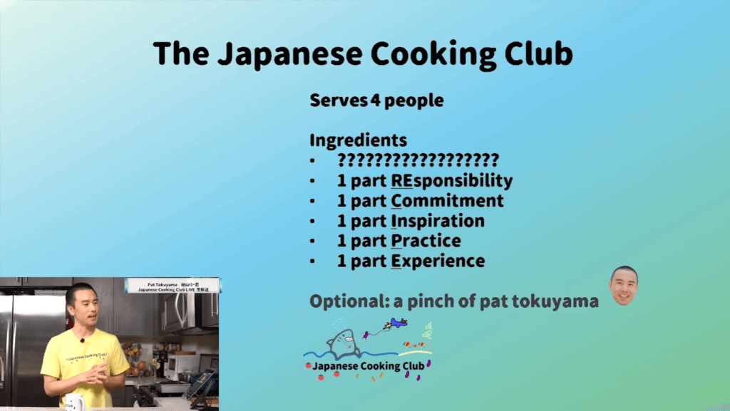 The Japanese Cooking Club