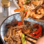 Yasai ankakedonburi (Vegetable rice bowl) recipe