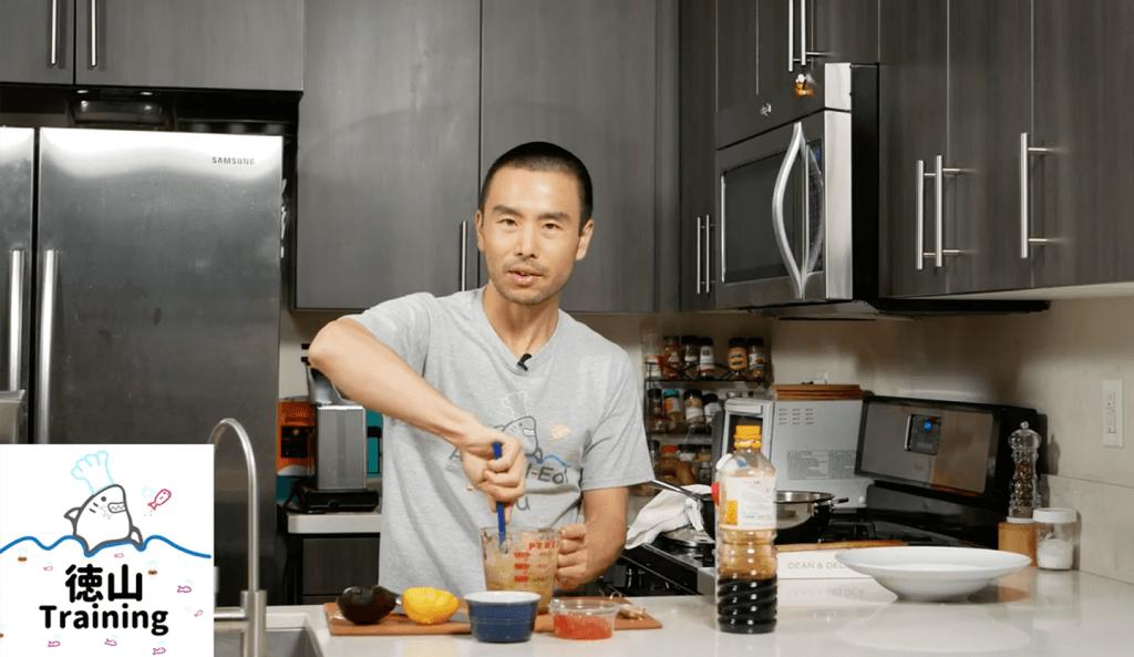 kura Pasta Japanese style pasta with salmon roe and avocado 2