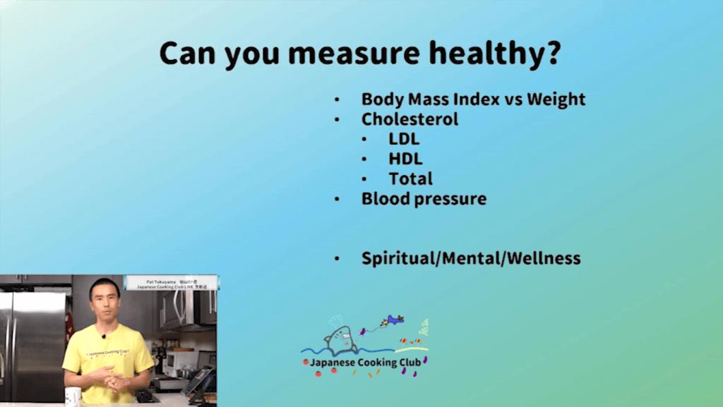 measure healthy