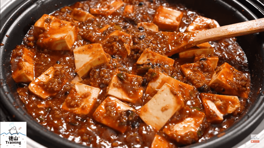 meatless mapo tofu