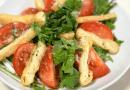 shiokoji dressing – japanese style mizuna salad