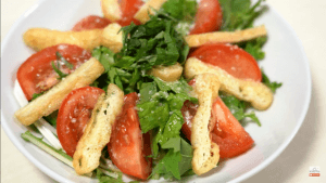 shiokoji dressing japanese style mizuna salad