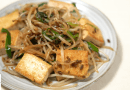Japanese style stir fry | shoyukoji with bean sprouts and tofu