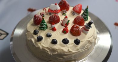 How to make Japanese Christmas cake (without a hot water bath)
