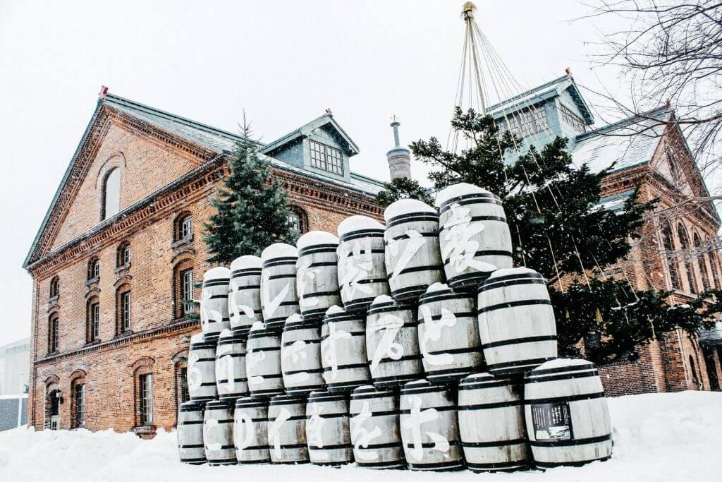 activities sapporo japan winter beer museum garden